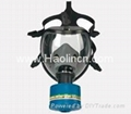 100% Silicone gas mask/ respriator with Single or double Filter(s) 3