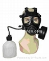 100% Silicone gas mask/ respriator with Single or double Filter(s) 5