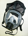 100% Silicone gas mask for breathing
