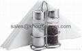 Salt,Pepper And Napkin Holder Set