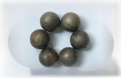 cast mill grinding ball,alloyed casting iron ball