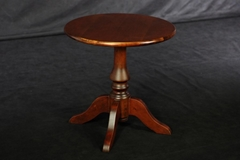Beech Round Solid Wood Low Table