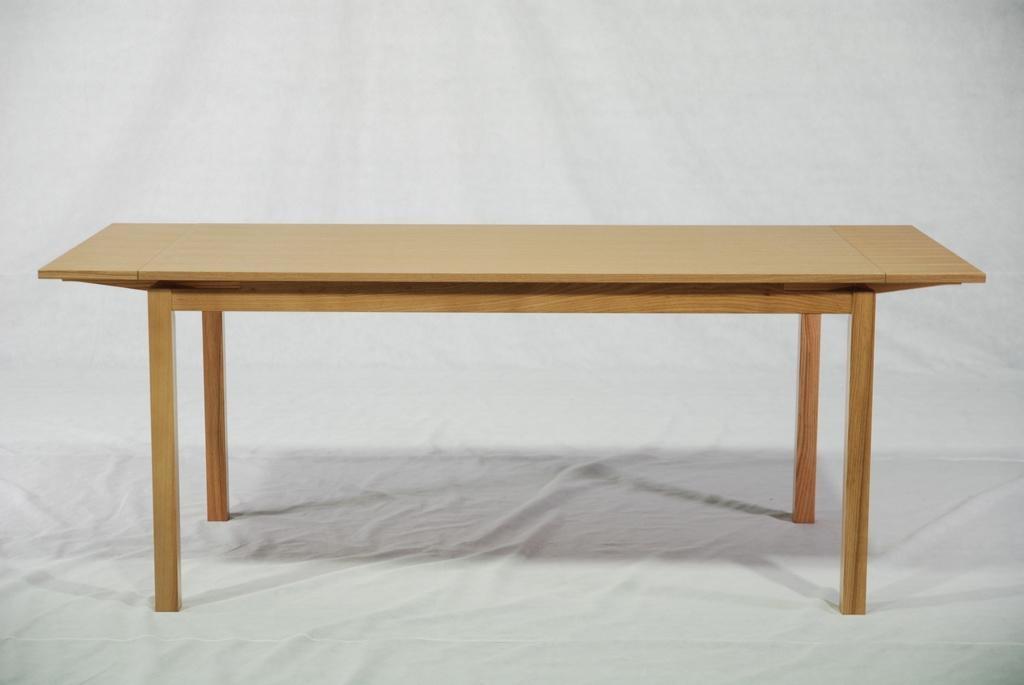 實木拉合伸縮餐台餐桌 2