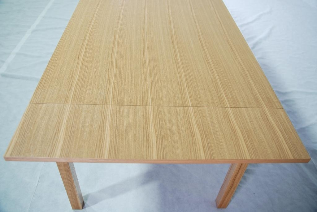 Ash Solid Wood Expanded Dining Table Dt 1006 Modern