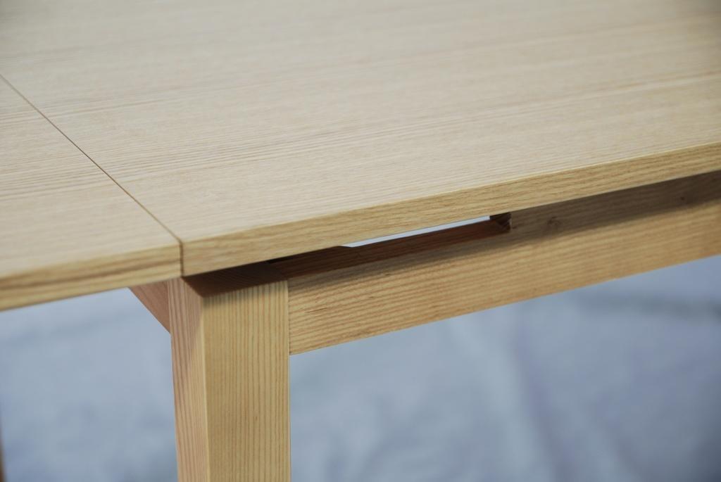 實木拉合伸縮餐台餐桌 5