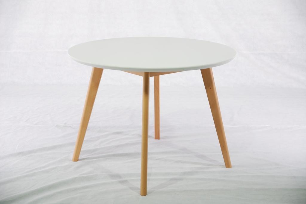 櫸木 圓形餐台餐桌 實木傢具 1