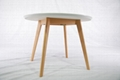 櫸木 圓形餐台餐桌 實木傢具 2