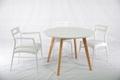 櫸木 圓形餐台餐桌 實木傢具 4