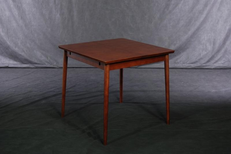 Beech Solid Wood Expanded Dining Table 1