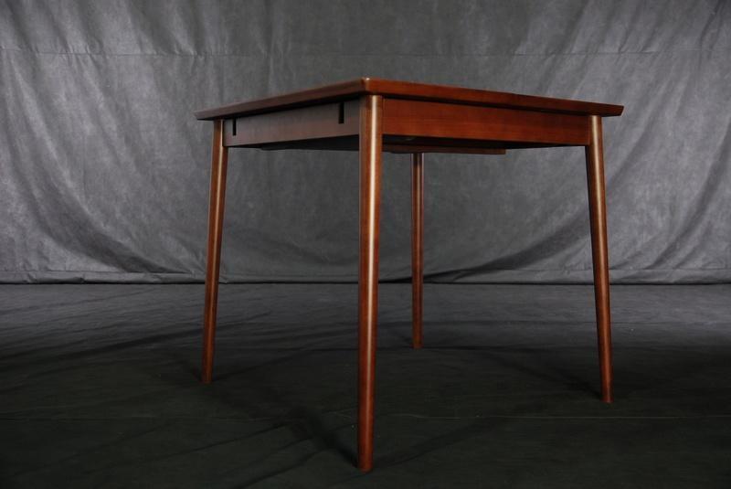 实木拉合伸缩餐台餐桌 5