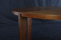Walnut Round Solid Wood Dining Table 4