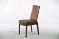 胡桃木 實木布藝餐椅 實木傢具