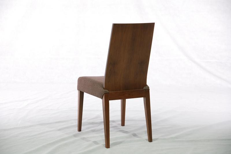 胡桃木 实木布艺餐椅 实木家具 3