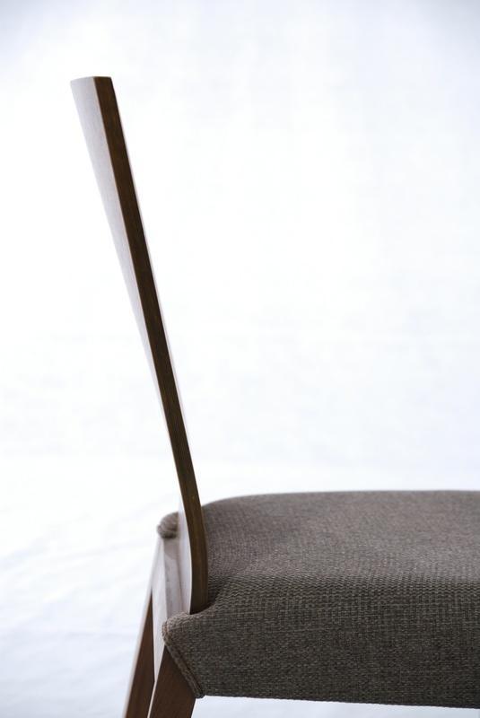 胡桃木 实木布艺餐椅 实木家具 5