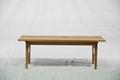 橡木 實木長椅 實木傢具