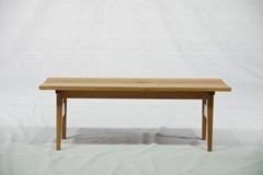 橡木 实木长椅 实木家具