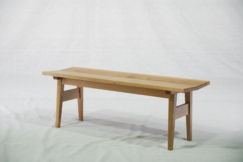 Oak Solid Wood Bench Dining Room Dc 1025b Modern