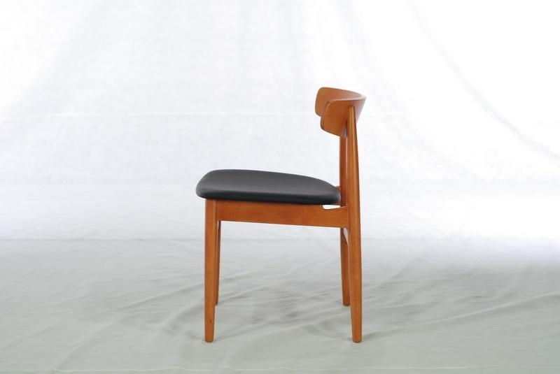 Beech Solid Wood Dining Chair (Dining Room) 2