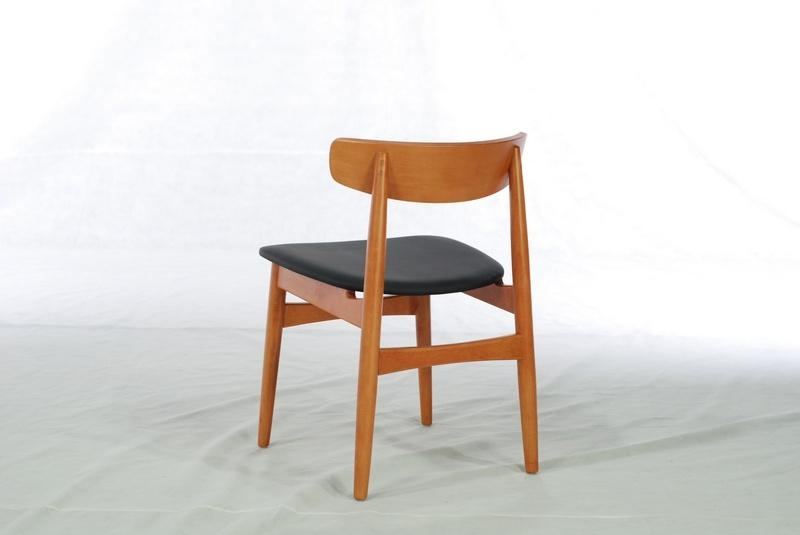 Beech Solid Wood Dining Chair (Dining Room) 3