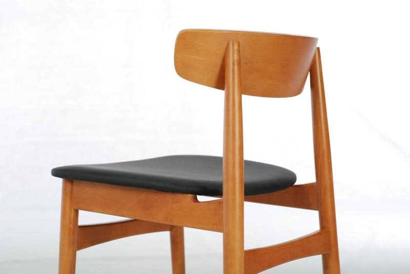 beech dining room furniture | Beech Solid Wood Dining Chair (Dining Room) - DC-1046 ...
