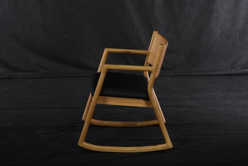 實木搖椅 4