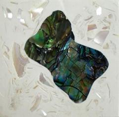 島形貝殼磚
