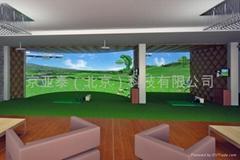 环屏模拟高尔夫
