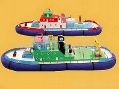 水上遥控船