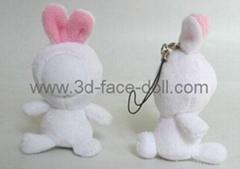 Supply 3d face doll,  Cartoon Toy, DIY Toy, Mini Toy, Soft Toy, Stuffed & Plush