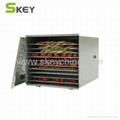 SKEY Stainless Steel 10 Rack Food Dehydrator