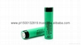 Lithium ion 18650 3.7V  battery
