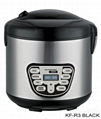 2.2L stainless steel rice cooker 1