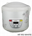 6-in-1 stainless steel rice cooker
