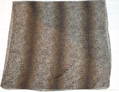 巴黎纱印花豹纹围巾