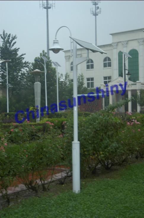 北京LED太陽能庭院燈 1
