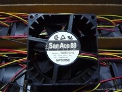 SANYO 8038 12V 1.1A 风扇