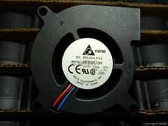 6025 12V 0.22A 涡轮风扇