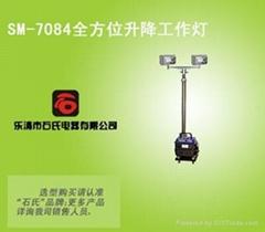 一体化便携式移动升降工作灯