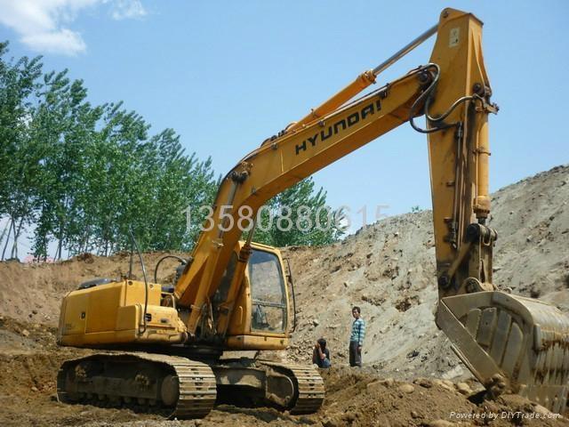 JCB挖机加长臂 1