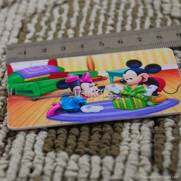 Credit Card USB2.0 Flash Drives gifts 5