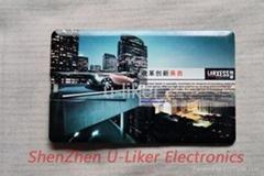 Credit Card USB2.0 Flash Drives gifts , 128MB to 16GB Memory Capacity