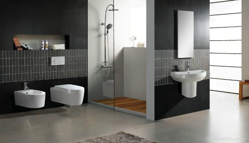 Sanitary ware wall hung toilet cy4461 cynosure china for Arredamento made in china