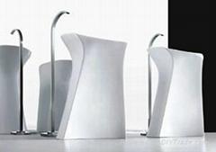 Ceramic Big Pedestal Basin
