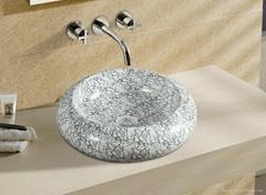 Ceramic Decal Basin