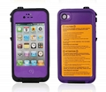waterproof lifeproof fre case for iphone 4 4s lifeproofing case for iphone