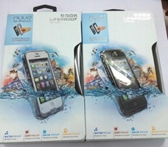 2013 newest lifeproof waterproof case lifeproof nuud case for iphone 5 lifeproof