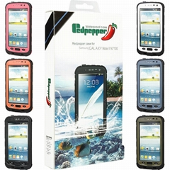 waterproof redpepper lifeproof case for samsung galaxy note 2 ii