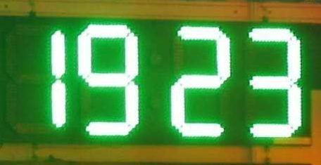 LED油價屏 4