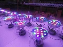 供應12W大功率七彩色投光燈