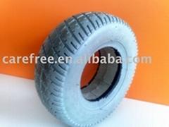 """8"""" foam PU filled rubber tire"""